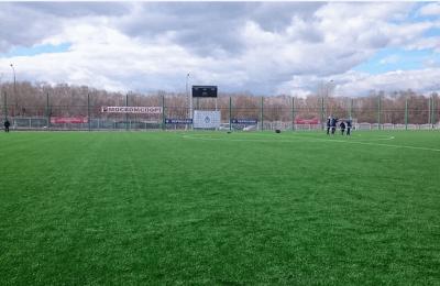 Футбольное поле клуба «Чертаново»
