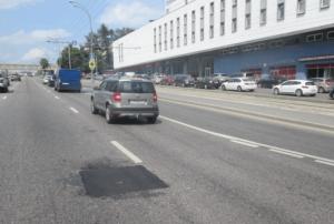 После ремонта на Варшавском шоссе