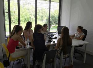Студенты из Беларуси в Московском культурном центре «Северное Чертаново»