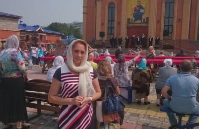 Депутат Инна Трясунова на празднике