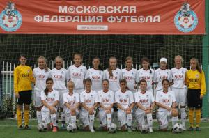 Футбольная женская сборная Москвы, которая больше, чем на 90 % состоит из воспитанниц школы «Чертаново»