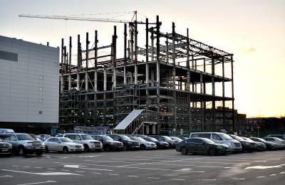 Строительство на территории экс-завода имени Лихачева