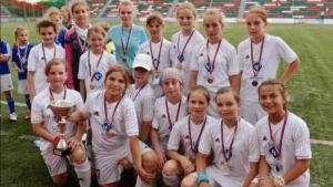 Воспитанницы футбольной школы «Чертаново»