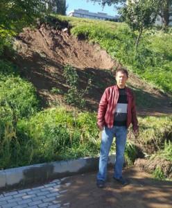 Депутат Сергей Иванов лично осмотрел сегодня берега пруда