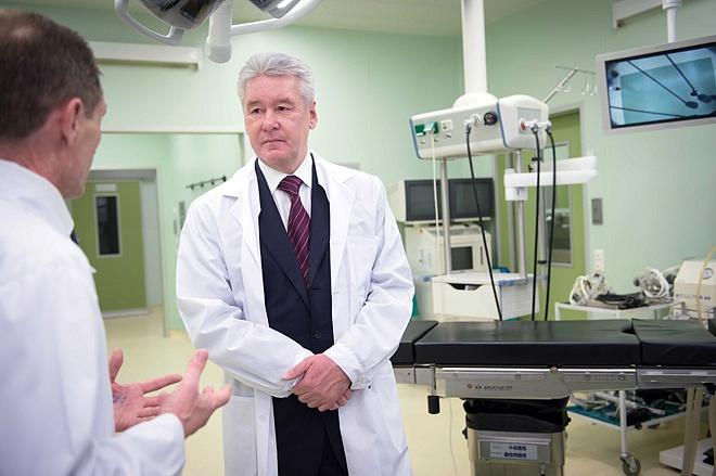 ВМоскве после капремонта открыт корпус нейрохирургии вБоткинской больнице