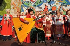 Участники фестиваля «Русское поле»