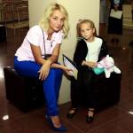 Дарья Сагалова с дочерью
