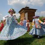 """Фольклорный фестиваль в музее-заповеднике """"Коломенское"""""""
