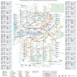 Схема Московского центрального кольца