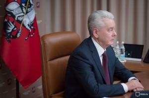 Мэр Москвы Сергей Собянин принял участие в первомайском шествии профсоюзов