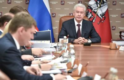 Собянин рассказал об организации новогодних праздников в Москве