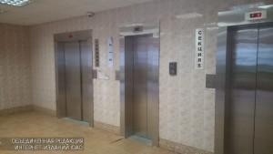 Лифты в одном из домов В ЮАО
