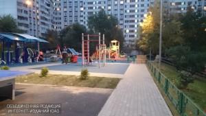 Детская площадка в ЮАО
