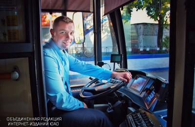 Водитель троллейбуса Алексей Мосляков