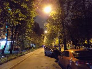 Восстановленное освещение на Сумском проезде