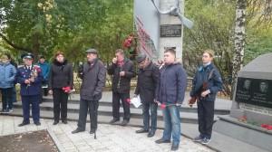 Выступление ветерана Колониченко