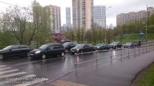 Азовская улица в районе Чертаново Северное