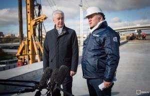 Сергей Собянин рассказал о строительстве Северо-Восточной хорды в Москве