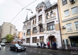 Отреставрированное здание скоропечатни