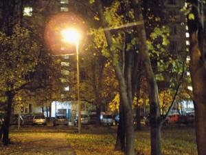 Восстановленное уличное освещение