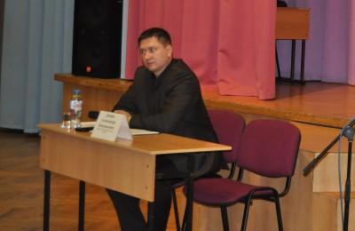 Глава управы района Чертаново Северное Александр Демин