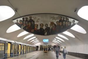 Вестибюль одной из станций метро