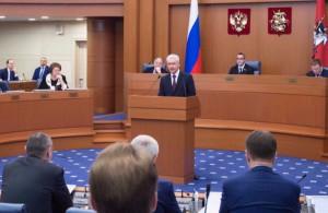 Собянин рассказал об оказании социальной помощи москвичам