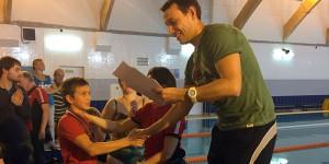 Соревнования по плаванию для лиц с ОВЗ