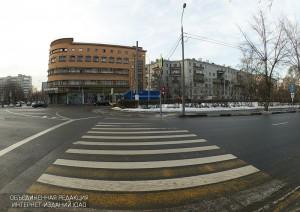 Пешеходный переход в ЮАО