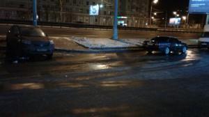 Очищенная от снега улица