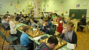 Юные шахматисты в ЮАО