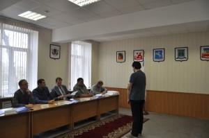 Работа призывной комиссии
