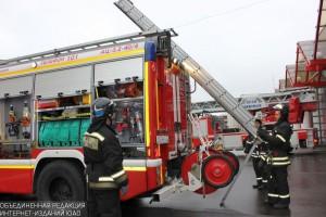 Пожарная часть в ЮАО