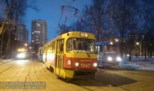 Ночной трамвай №3 вернулся на маршрут