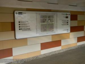 В московском метро активно развивается система навигации