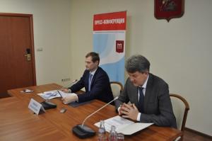 Константин Тимофеев (слева)