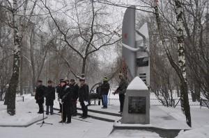 Торжественный митинг у памятника погибшим летчикам