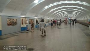 """Станция """"Южная"""" Серпуховско-Тимирязевской линии"""