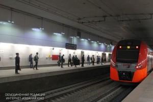 """Станция МЦК """"Площадь Гагарина"""""""