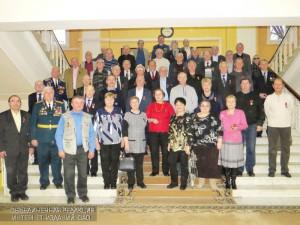 На торжественном награждении героев-чернобыльцев