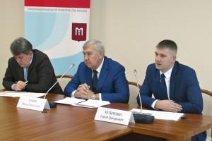 На пресс-конференции, посвященной итогам работы Центра экспертиз, исследований и испытаний в строительстве