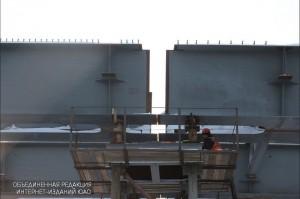 Строительство эстакады в ЮАО
