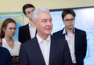 Сергей Собянин рассказал об информатизации московских школ