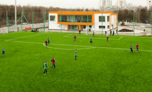 Футбольное поле с подогревом в районе Чертаново Северное