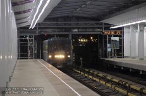 """Станция метро """"Технопарк"""" в ЮАО"""