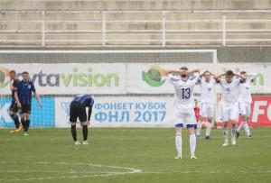 Футбольная игра на Кипре