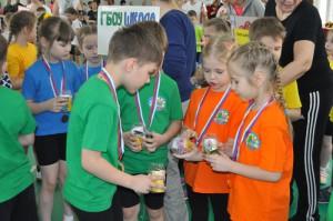 Юные участники соревнований