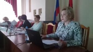 Главный врач поликлиники №129 Наталья Бучнева