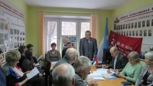 Заседание Совета Ветеранов в районе