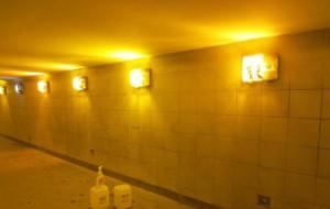 Очищенный подземный переход